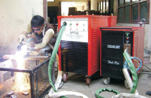 Air Plasma Cutting Machine with Water Cooling Torch Upto 100mm